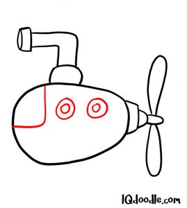 doodle a submarine