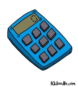 How to doodle a calculator