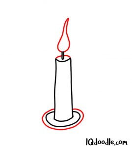 doodle a candle