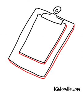 doodle a clipboard