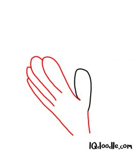 draw a hands clapping