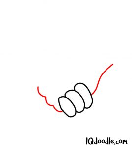 drawing a handshake