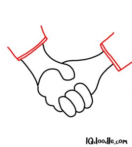 doodle a handshake