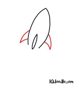 draw rocket