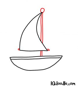 doodling a sailboat