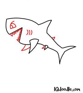 doodle a shark