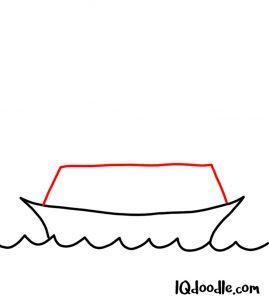 drawing a ship