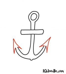 doodle an anchor