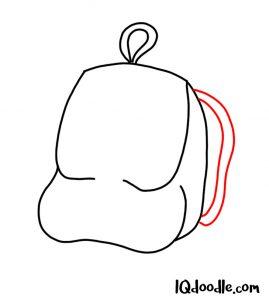 doodle a backpack