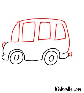 doodle a bus