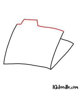 doodling a file folder