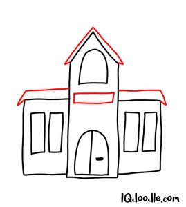 doodle a school