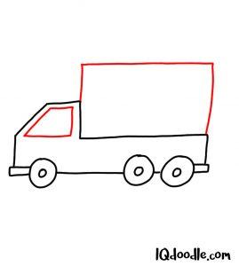 doodle a truck
