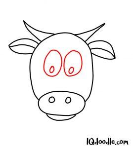 doodle a cow