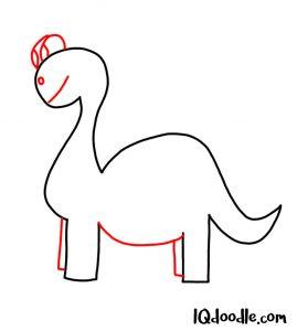 doodle a dinosaur