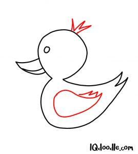 doodle a duck