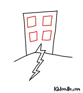doodle an earthquake