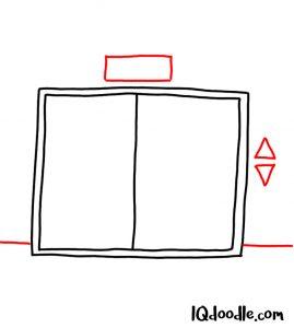 doodling an elevator