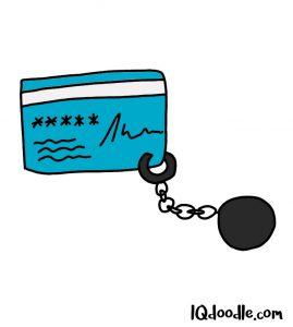 how to doodle debt