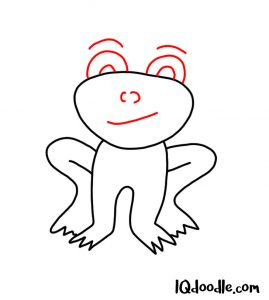 doodle a frog