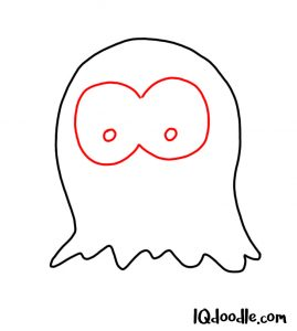 doodling a ghost