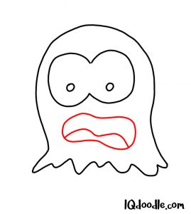 doodle a ghost