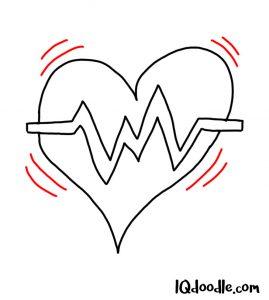 doodle a heartbeat