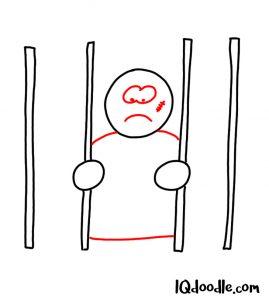 doodle a jail