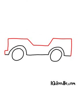 doodling a jeep