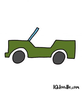 how to doodle a jeep
