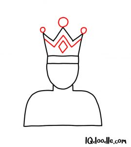 doodle a king