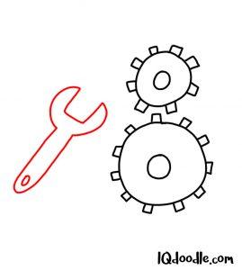 doodle a machine