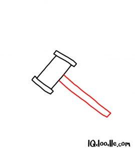 doodling judge