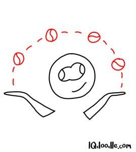 doodle juggle