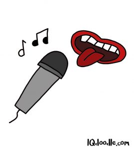 how to doodle karaoke