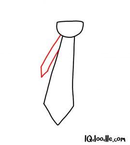 doodling a necktie