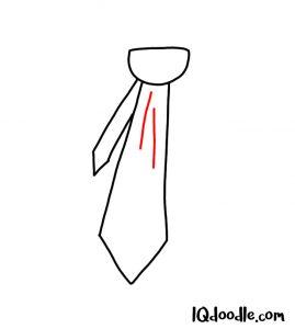 doodle a necktie