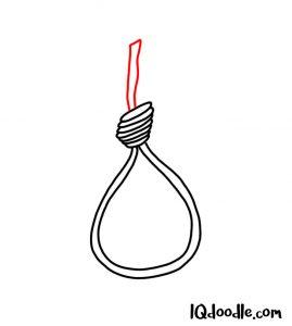 doodling a noose