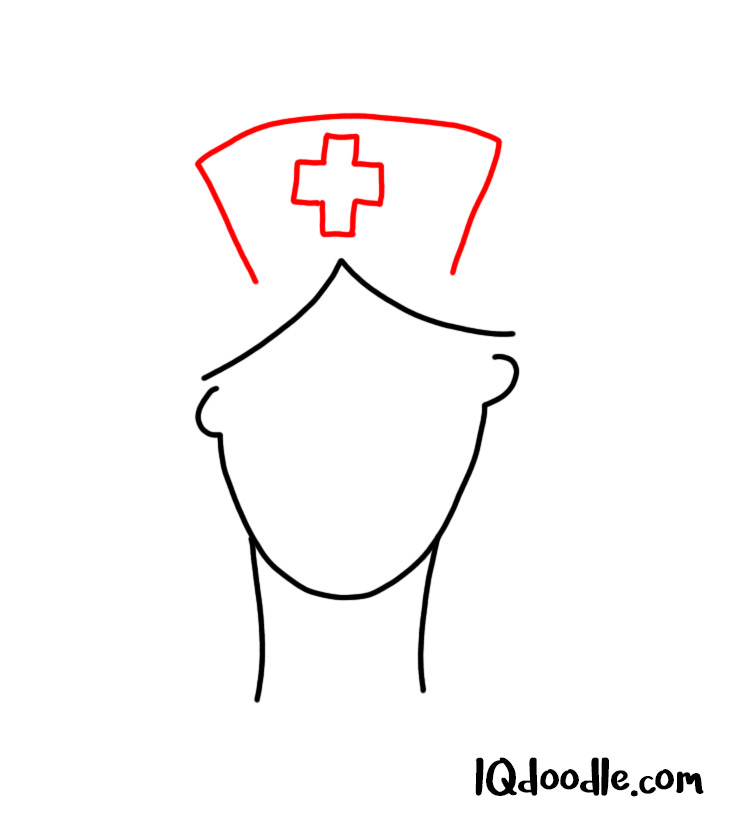 doodling a nurse