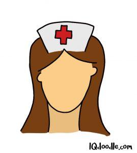 how to doodle a nurse