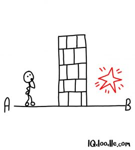 doodle an obstacle