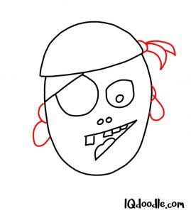 doodle a pirate