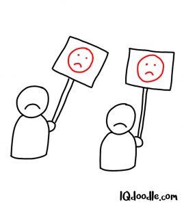 doodle a protest