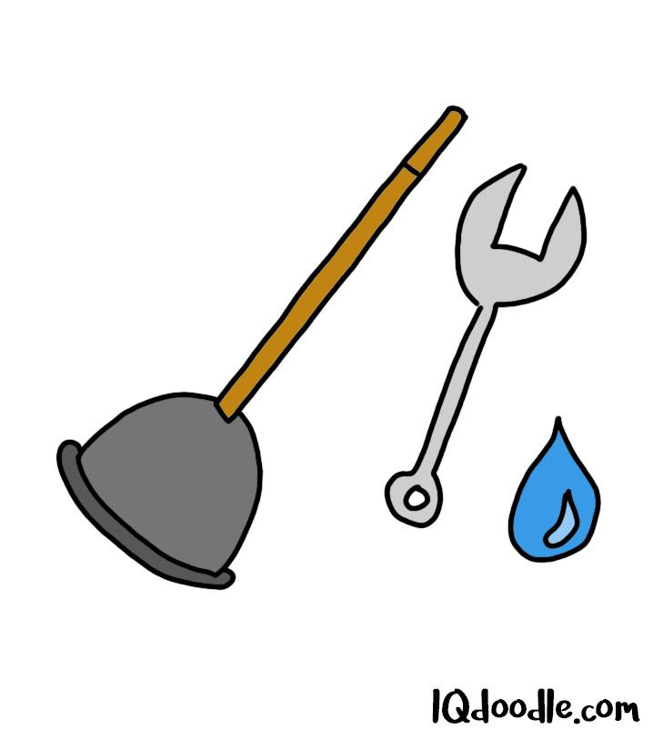how to doodle plumbing