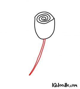 doodling a rose