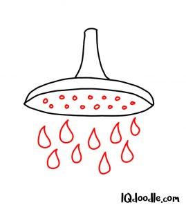 doodle a shower