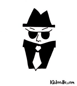 how to doodle a spy