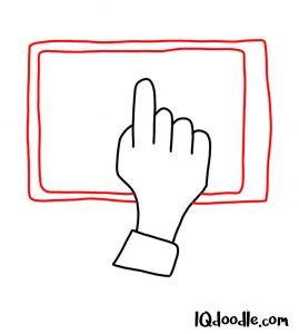doodling a tablet