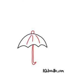 draw an umbrella