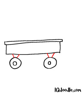 how to doodle wagon 03